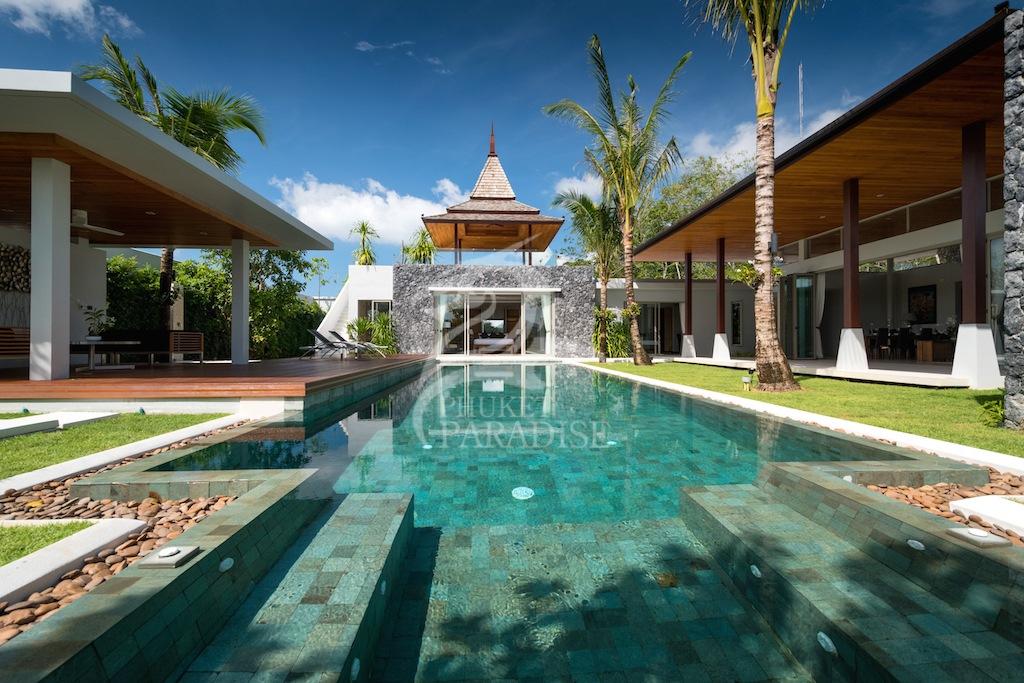 Шикарные новые виллы Botanica Luxury на Бангтао на продажу